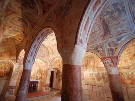 Kirche der Dreifaltigkeit in Hrastovlje in Slowenien